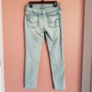 American Eagle Outfitters Jeans - Distressed Light Wash Tomgirl American Eagle Jeans